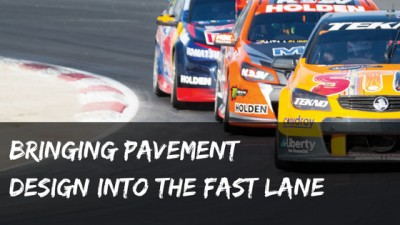 Bringing Pavement Design into the Fast Lane